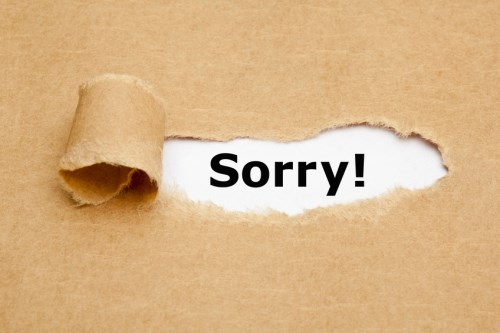How to apologise when you're the boss