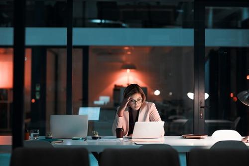 Why executives no longer work the '24-hour day'