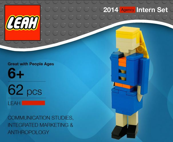 Women mails Lego doppelganger to entice employers