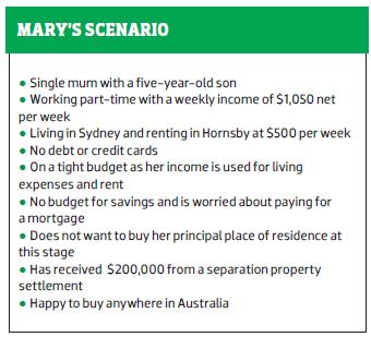 Mary's Scenario