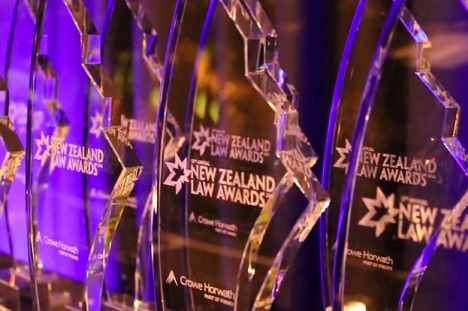 Winners revealed at New Zealand Law Awards