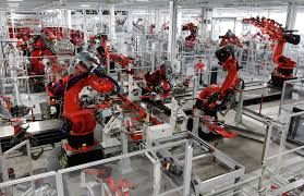 Manufacturer replaces 60,000 workers with robots