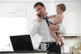 More fathers would take a pay cut to improve worklife balance
